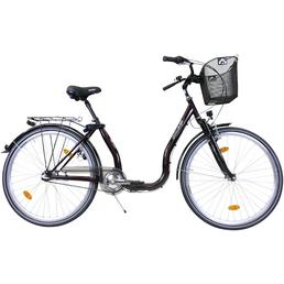 CHALLENGE Citybike Tiefeinsteiger, 28 Zoll, 3-Gang, Unisex