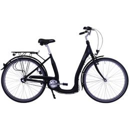 HAWK Citybike Tiefeinsteiger »Comfort Premium«, 28 Zoll, Unisex