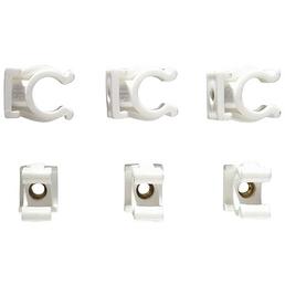 CORNAT Clips, Kunststoff, 25 Stück