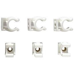 CORNAT Clips, Kunststoff / Messing