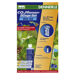 DENNERLE CO2 Pflanzen-Dünge-Set , Bio 60
