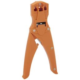 SCHWAIGER Crimpzange, 21 cm, Orange, Kunststoff