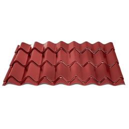 DS Stahl Dachpfannenprofil »Markant 200«, BxL: 580 x 1080 mm, rot