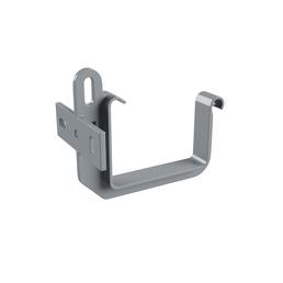 Dachrinnenhalter, Nennweite: 70 mm, kastenförmig, verzinkter Stahl