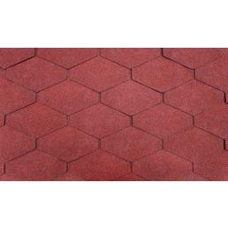 SKANHOLZ Dachschindel, Bitumen, rot, Paketinhalt: 2 m²