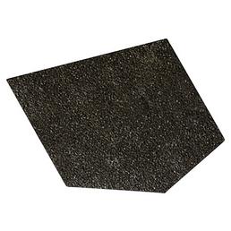 Dachschindel Bitumen schwarz 2m²