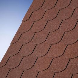 KARIBU Dachschindel »Dacheindeckung«, Bitumen, dunkelrot, 3 m²