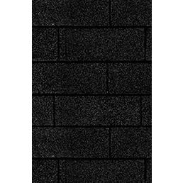 KARIBU Dachschindel »Dacheindeckung«, Bitumen, schwarz, 3 m²