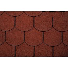 WOLFF Dachschindel für Gartenhäuser, Bitumen