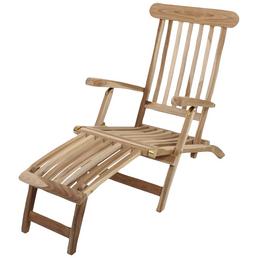 GARDEN PLEASURE Deckchair »Java«, Höhe: 81 cm, Teakholz
