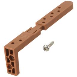 WOLFCRAFT Deckverbinder, 6973000, Kunststoff, 10 St.