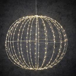 Luca Lighting Deko-Kugel, rund, ø: 60 cm, Netzbetrieb