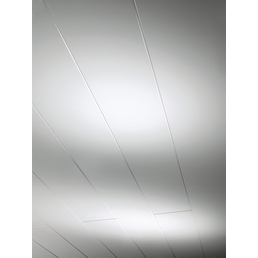 PARADOR Dekorpaneele »Novara«, weiß, Holz, Stärke: 10 mm