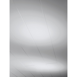 PARADOR Dekorpaneele »Novara«, weiß, seidenmatt, Holz, Stärke: 10 mm