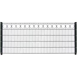 FLORAWORLD Dekorzaun-Matte aus Stahl, LxH: 250 x 80 cm, 1 Stück