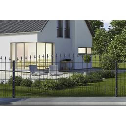 FLORAWORLD Dekorzaun-Matte,  L x H: 240  x 80  cm, Stahl