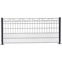 FLORAWORLD Dekorzaun-Matte »Premium«, Stahl, LxH: 245 x 80 cm