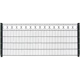 FLORAWORLD Dekorzaun-Matte »Premium«, Stahl, LxH: 250 x 80 cm