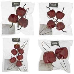 CASAYA Dekostecker, Apfel,  rot