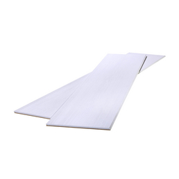 MODERNA Design-Paneel »Urbano«, weiß, foliert, Holz, Stärke: 10 mm, mit Mini-Fuge