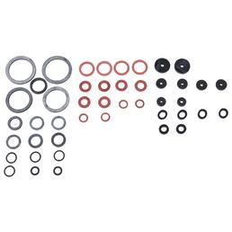 CON:P Dichtungsset, rot/silberfarben/schwarz