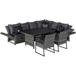 Dining-Lounge »Bolanos«, 8 Sitzplätze, inkl. Auflagen