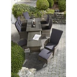 MERXX Diningset »Ravello«, 8 Sitzplätze, inkl. Auflagen