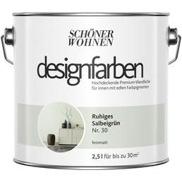 Schoner Wohnen Dispersionsfarbe Designfarben Ruhiges Salbeigrun Matt Hagebau De