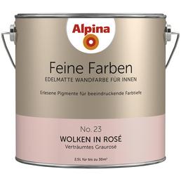 Alpina Dispersionsfarbe Feine Farben Wolken In Rose Matt Hagebau De