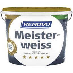 RENOVO Dispersionsfarbe »Meisterweiß«, Weiß, matt