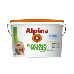 ALPINA Dispersionsfarbe »Naturaweiß«, matt
