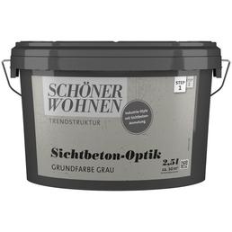 SCHÖNER WOHNEN FARBE Dispersionsfarbe »Trendstruktur«, 2,5 l