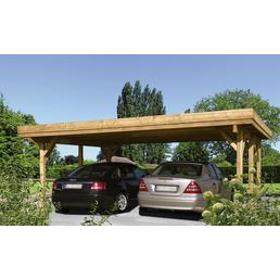 Kiehn-Holz Doppelcarport »KH 202«, natur