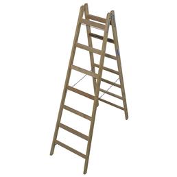 KRAUSE Doppelleiter »STABILO«, Anzahl Sprossen: 14, Holz