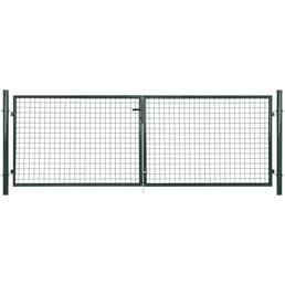 FLORAWORLD Doppeltor »Standard«, Stahl, grün
