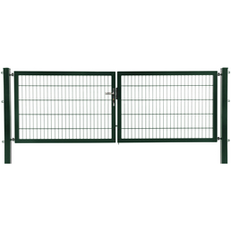 FLORAWORLD Doppeltor, System »Premium«, Stahl, grün