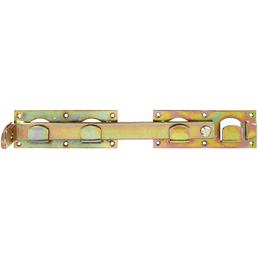 GAH ALBERTS Doppeltorüberwurf, Rohstahl/verzinkt, 5 Stück, goldfarben/irisierend