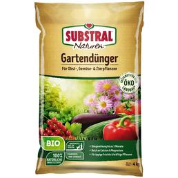 SUBSTRAL NATUREN® Dünger »Bio«, 4 kg, schützt vor Nährstoffmangel