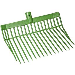 Dunggabel, für Stall und Hof, aus Kunststoff, grün