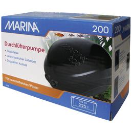 MARINA Durchlüfterpumpe »Aquarien-Durchlüfterpumpe«, 4 W, für Aquarien bis: 225 l, schwarz