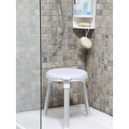 Bischof Dusch- und Badehocker, Weiß