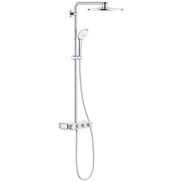 GROHE Duschsystem »Euphoria SmartControl System 310 Duo«, Höhe: 110,4 cm, chromfarben
