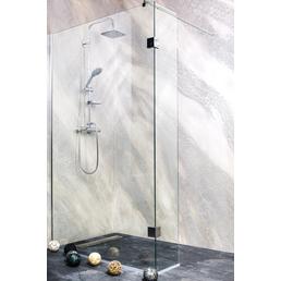 SANOTECHNIK Duschtrennwand »Wide«, B x H: 118 x 195 cm, Sicherheitsglas