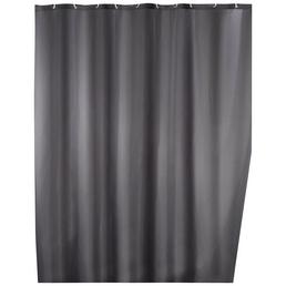WENKO Duschvorhang »Anti-Schimmel«, BxH: 180 x 200 cm, Uni, grau