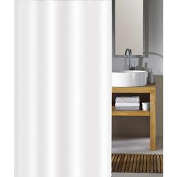 KLEINE WOLKE Duschvorhang »Phönix«, BxH: 180 x 200 cm, Uni, weiß