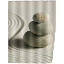 WENKO Duschvorhang »Sand and Stone«