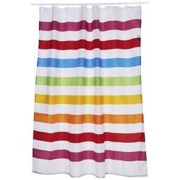 KLEINE WOLKE Duschvorhang »Select«, BxH: 180 x 200 cm, Streifen, mehrfarbig