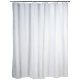 WENKO Duschvorhang »Uni «, BxH: 120 x 200 cm, Uni, weiß