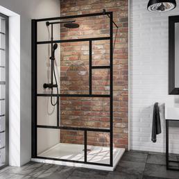 SCHULTE Duschwand »Alexa Style 2.0«, B x H: 90 x 200 cm, Sicherheitsglas