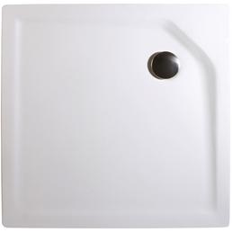 WELLWATER Duschwanne, BxT: 80 x 80 cm, weiß